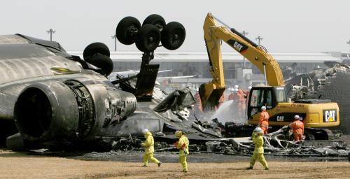 Havárii nákladního letadla v Tokiu nikdo nepřežil