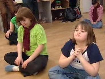 Děti postižené Downovým syndromem