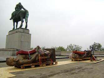 Rekonstrukce památníku na Vítkově