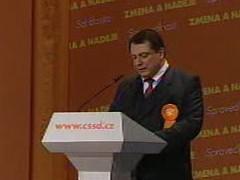Projev Jiřího Paroubka