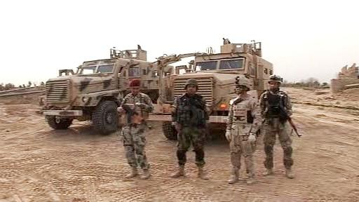 Spolupráce americké a irácké armády