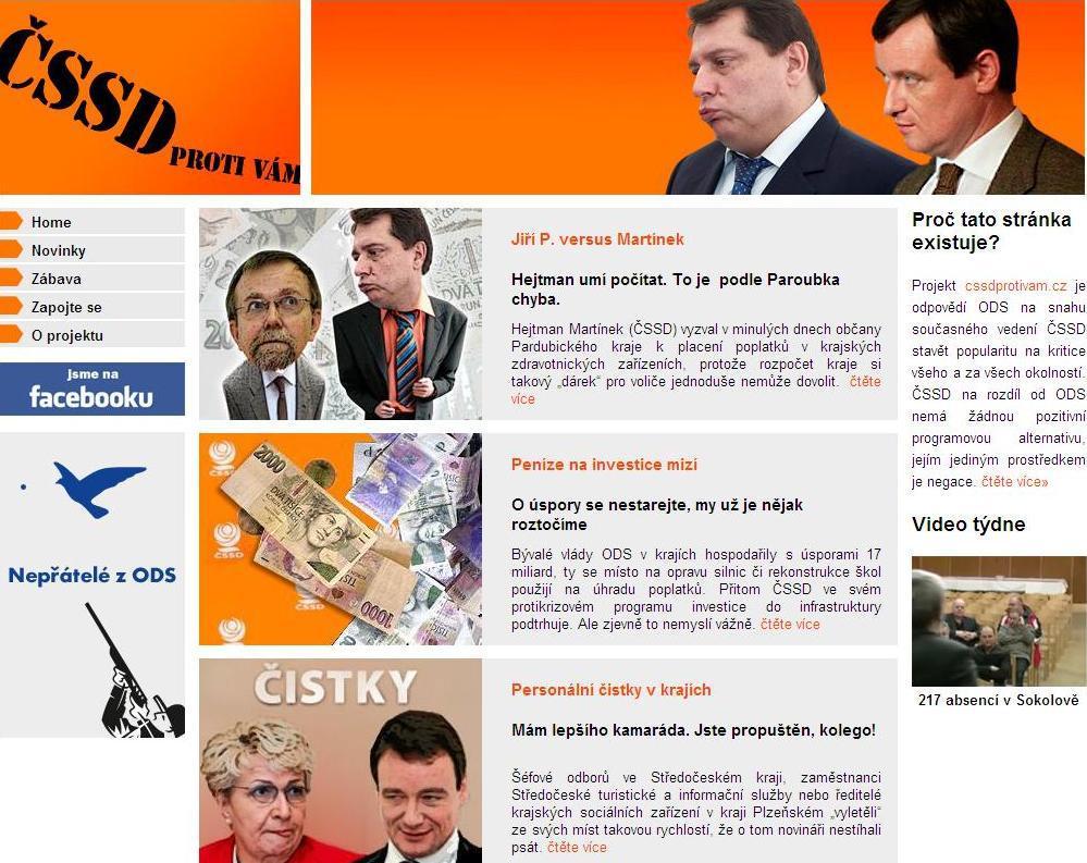 Kampaň proti ČSSD