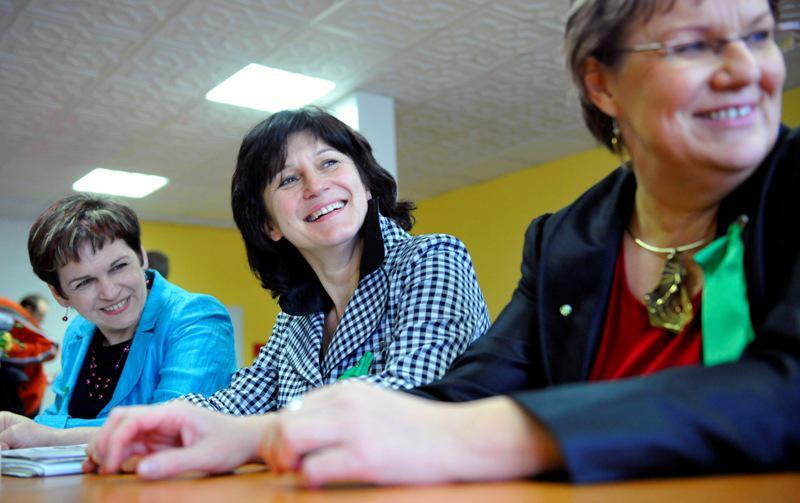 Věra Jakubková, Olga Zubová a Dana Kuchtová