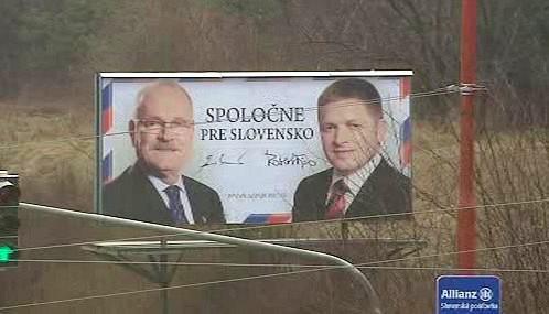 Volební kampaň na Slovensku
