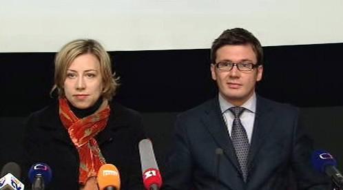 Kateřina Jacques a Ondřej Liška