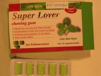 Žvýkačky na podporu potence