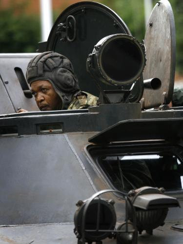 Obrněné vozidlo madagaskarské armády