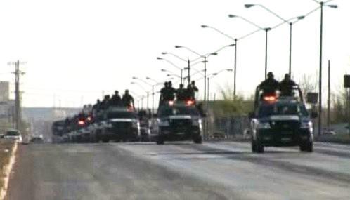Mexická armáda převzala kontrolu nad městem Juarez