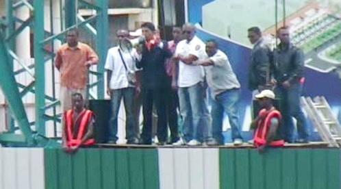 Protesty na Madagaskaru