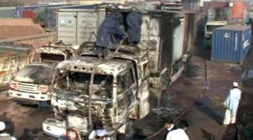 Následky útoku Talibanu