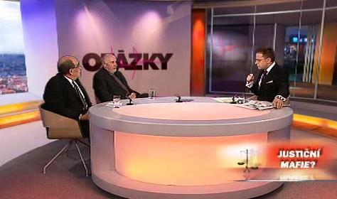 Otakar Motejl a Pavel Rychetský v OVM