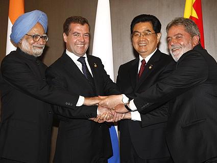 Lídři zemí BRIC