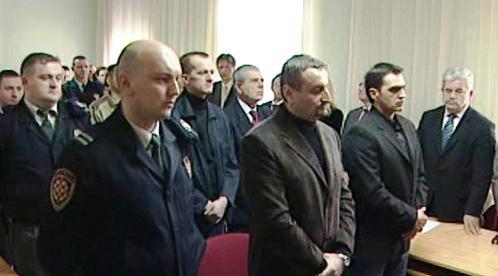 Soud s chorvatskými vojáky