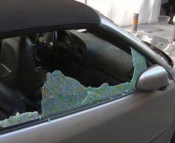 Poškozený automobil