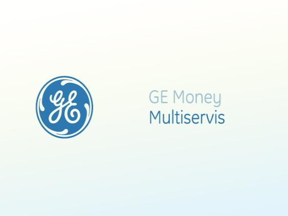 Ge Money Multiservis