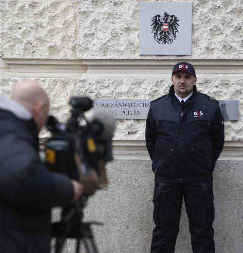Soud v rakouském Sankt Pöltenu