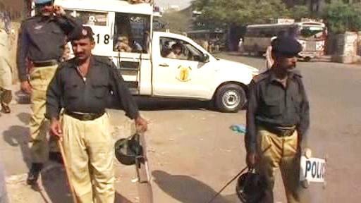 Pákistánští policisté