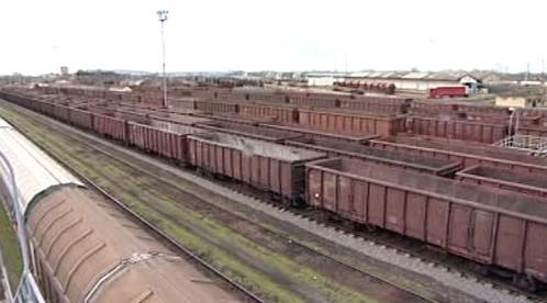 Nákladové nádraží v Čierné nad Tisou