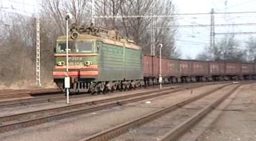 Ruský nákladní vlak