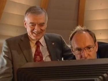 Tim Berners Lee a Robert Cailliau