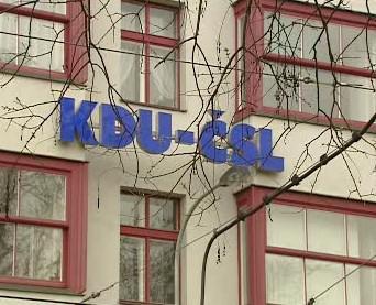 Budova KDU-ČSL v Praze