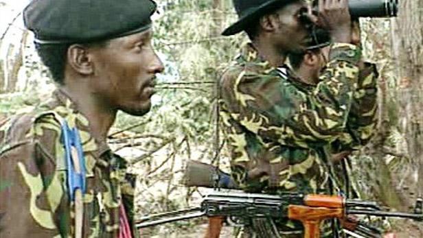 Afričtí vojáci