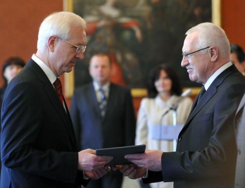 Václav Klaus jmenuje nového předsedu AV