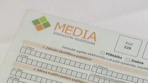 Formulář zdravotní pojišťovny Média