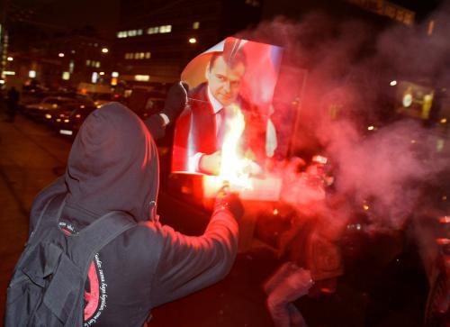 Demonstrace ruské opozice