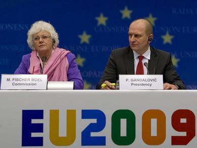 Mariann Fischer Boelová a Petr Gandalovič