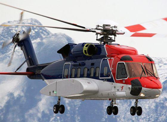 Vrtulník Sikorsky S-92