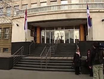 Budova bělehradského soudu
