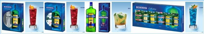 Produkty Becherovky