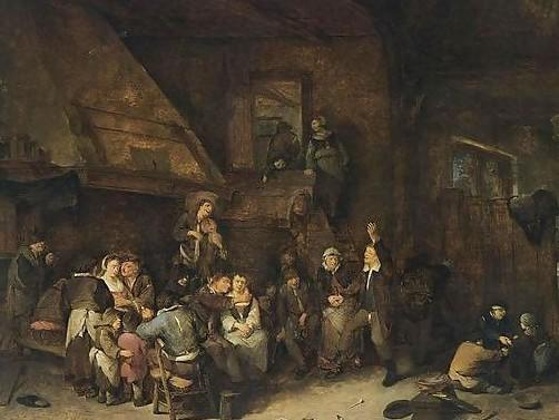 Cornelis Pietersz Bega - Tavern-Interior