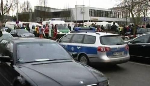Střelba před školou v německém Winnendenu