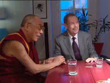 Václav Havel a dalajláma
