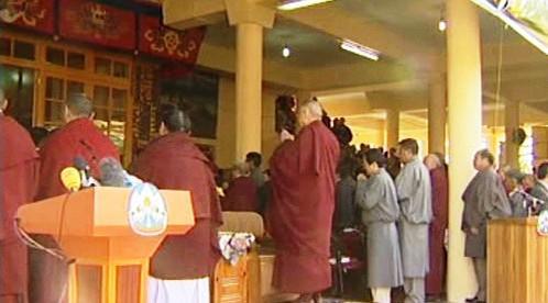 Vystoupení dalajlamy v Dharamsále