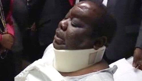 Tsvangirai byl propuštěn z nemocnice