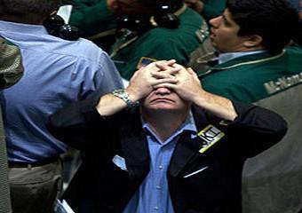 Makléř na burze NYSE