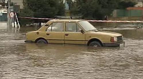 Záplavy