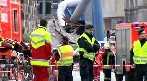 Záchranná akce v Kolíně nad Rýnem