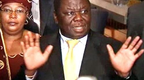 Lídr zimbabwské opozice Morgan Tsvangirai