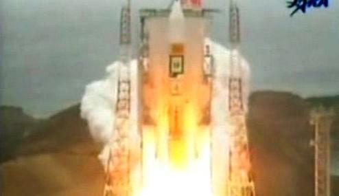 Start japonské rakety H-2A