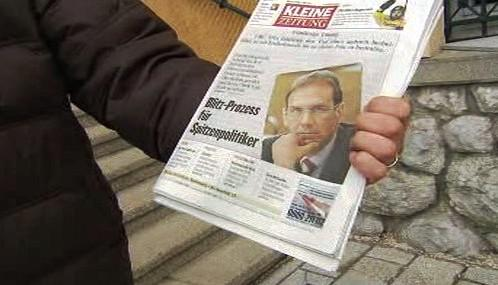 Rakouský tisk o soudu s Dieterem Althausem