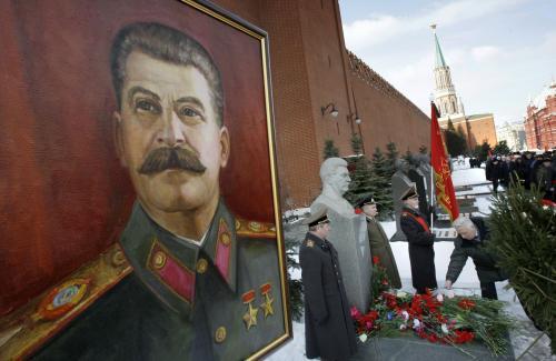 Rusko si připomíná výročí Stalinovy smrti