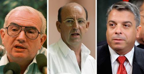 Vyměnění kubánští vládní činitelé