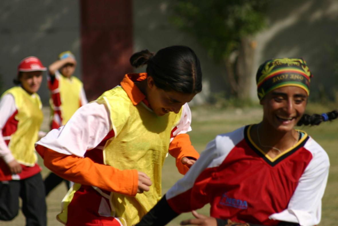 Fotbalistky z Kábulu