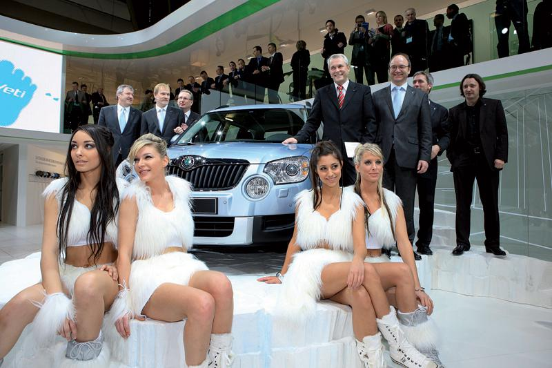 Premiéra vozu Škoda Yeti