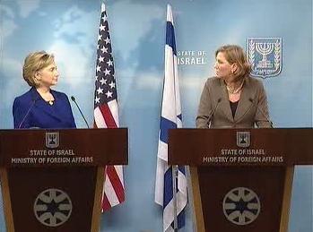 Hillary Clintonová a Cipi Livniová