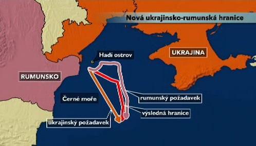 Rumunsko-ukrajinská mořská hranice